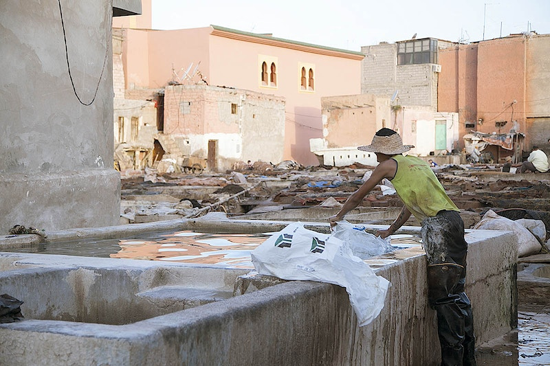 Tanneries In Marrakech - Omnia Arfin