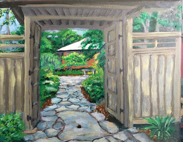 Japanese Teahouse at Duke Gardens - Penney De Pas