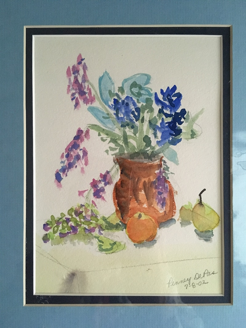 My FIRST Watercolor! - Penney De Pas