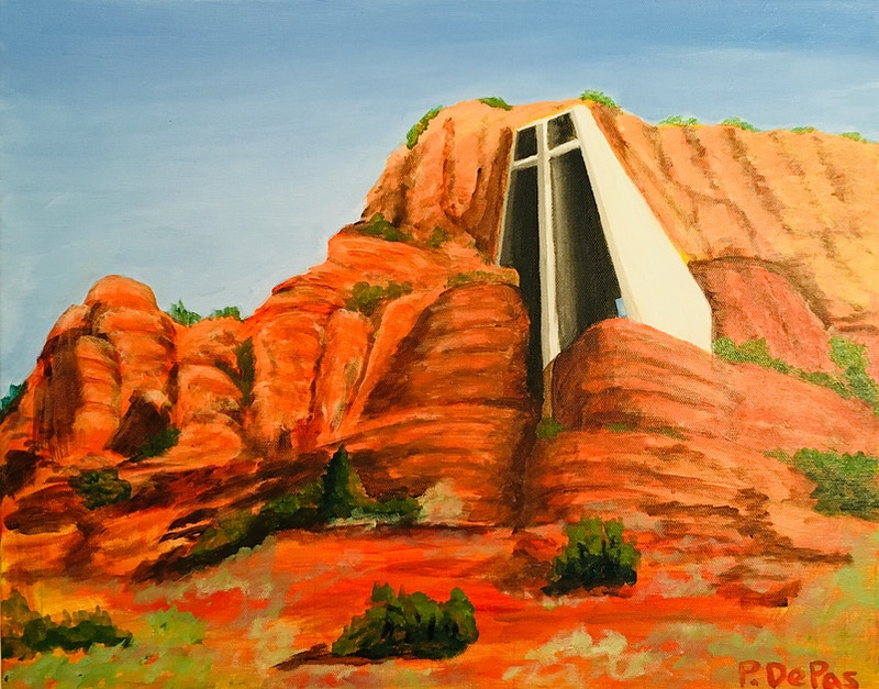 Chapel of the Holy Cross, Sedona - Penney De Pas