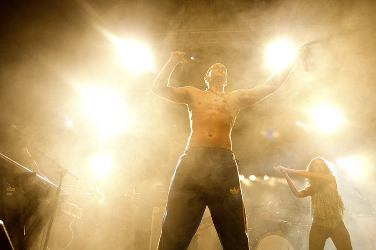 The latin group Calle 13 in his concert in Anterwepen in 19th of August 2012 (Belgium) - Pablo Garrigós