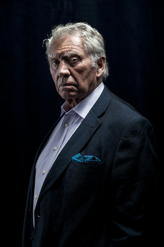 Don McCullin, british photographer, before his conference at the CINE ONU Forum at BOZAR in Brussels - Pablo Garrigós