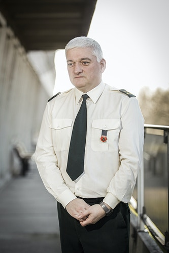 Major Lemal, militar psychologist of the Belgium Army - Pablo Garrigós