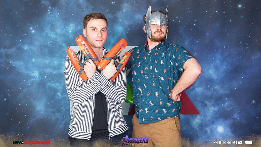 New Rockstars Avengers Endgame Watch Party 042619 - Photos From Last Night