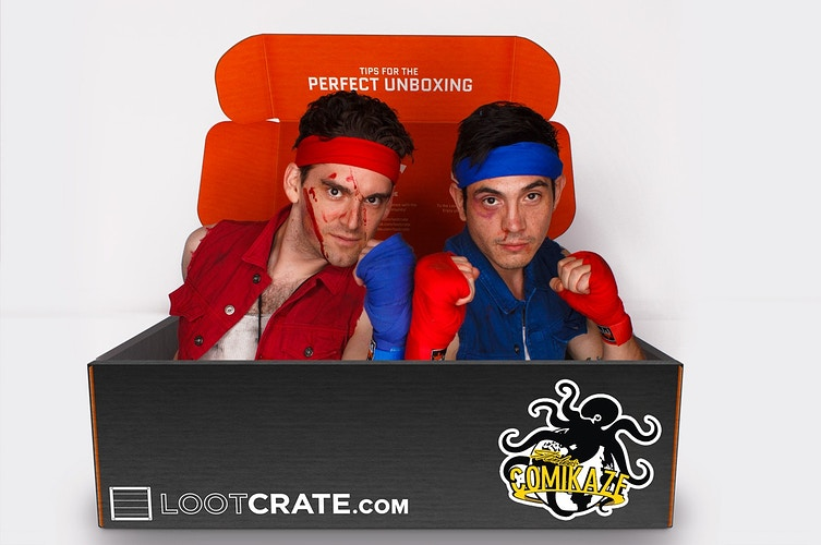 Loot Crate Comikaze Expo La Comic Con 14 110214 - Photos From Last Night
