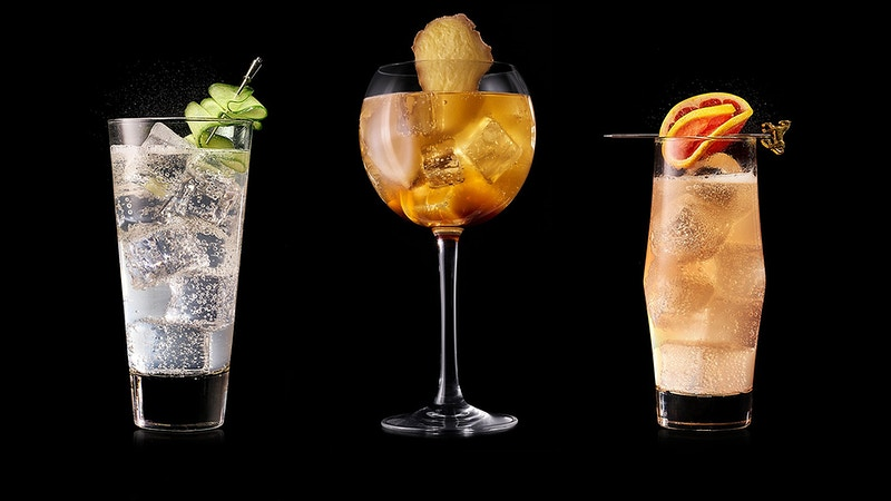 Schweppes Coctails - Sergiy Rud & Juliya Malanuk :: Table-top photography