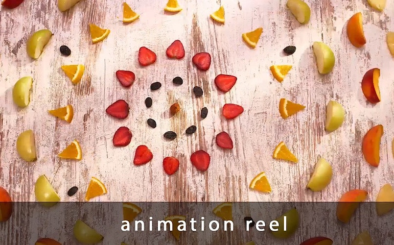 Stop animation reel - Sergiy Rud & Juliya Malanuk :: Table-top photography