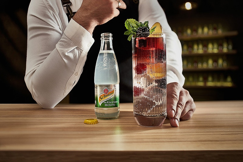 Schweppes - Sergiy Rud & Juliya Malanuk :: Table-top photography