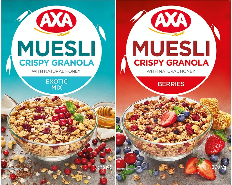 AXA Muesli - Sergiy Rud & Juliya Malanuk :: Table-top photography