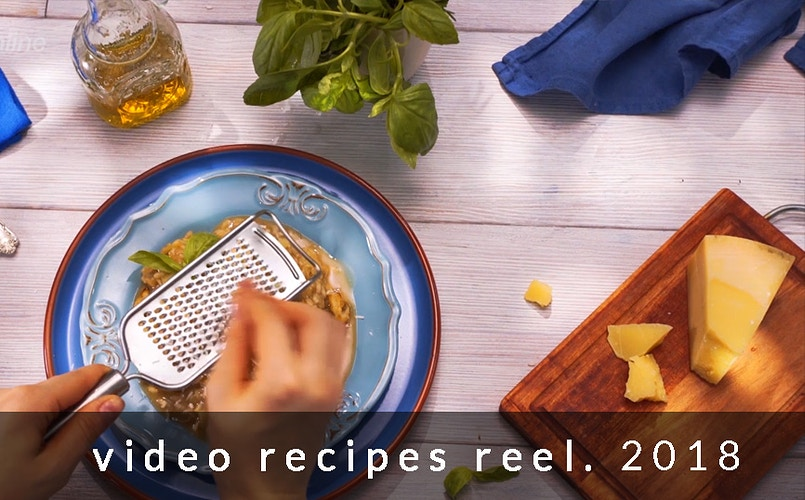 Video recipes reel - Sergiy Rud & Juliya Malanuk :: Table-top photography