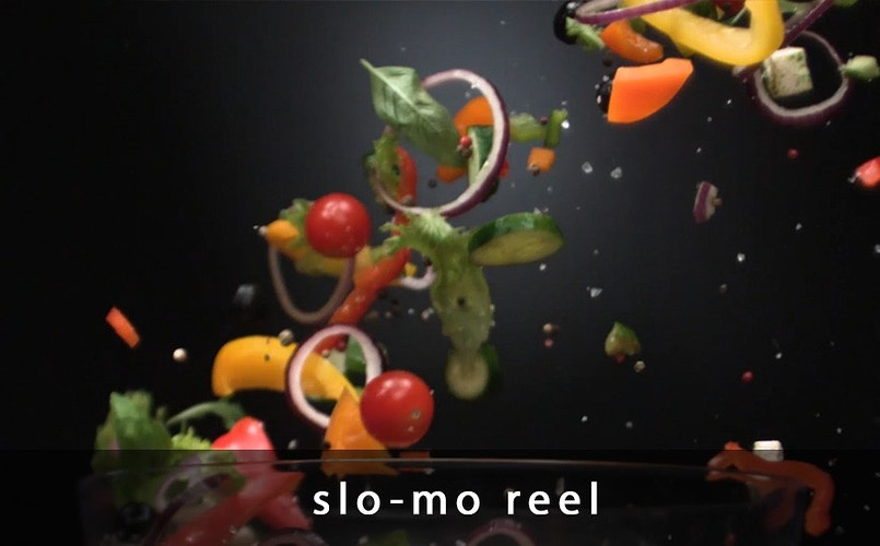 Slo-mo reel - Sergiy Rud & Juliya Malanuk :: Table-top photography