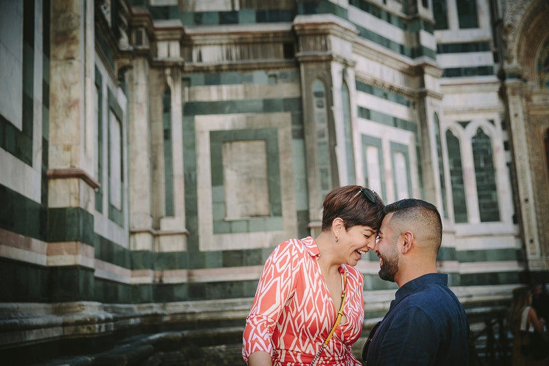 Lisa And Arash Florence And Certaldo Italy - PMG Image