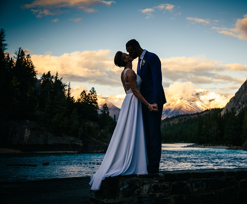 Christy And David Mountain Elopement - PMG Image