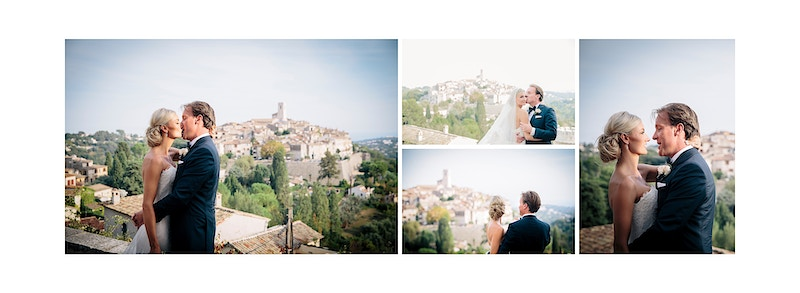 Jess And Piers St Paul De Vence France - PMG Image