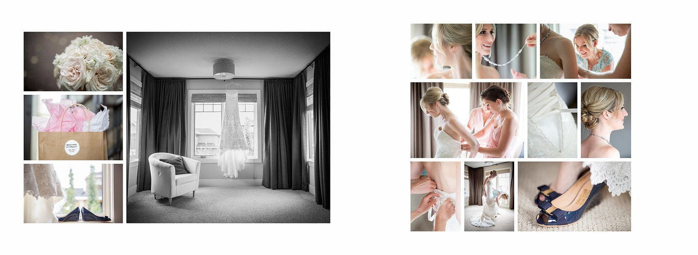 Beth And Sean Spruce Meadows - PMG Image