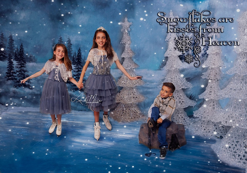 Ice Tivities - Portrait Artistry by Linda Marie | Newborn, Children & Family Photography