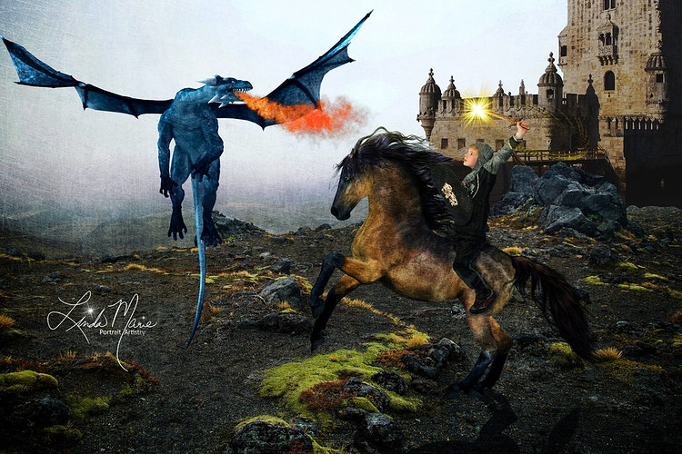The Dragons Lair - Portrait Artistry by Linda Marie   Newborn, Children & Family Photography