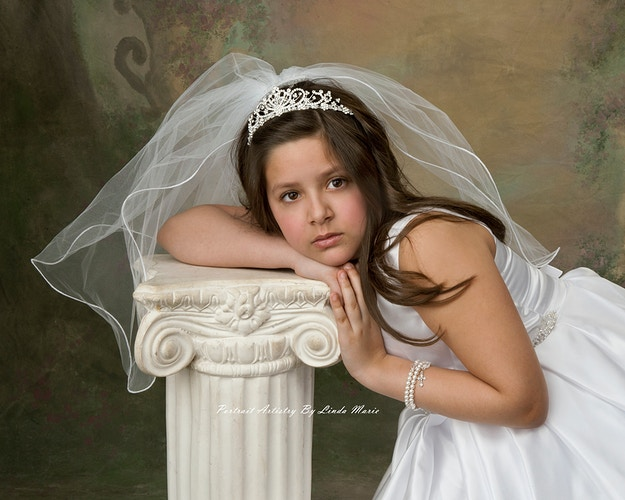 First Holy Communion - Portrait Artistry by Linda Marie | Newborn, Children & Family Photography