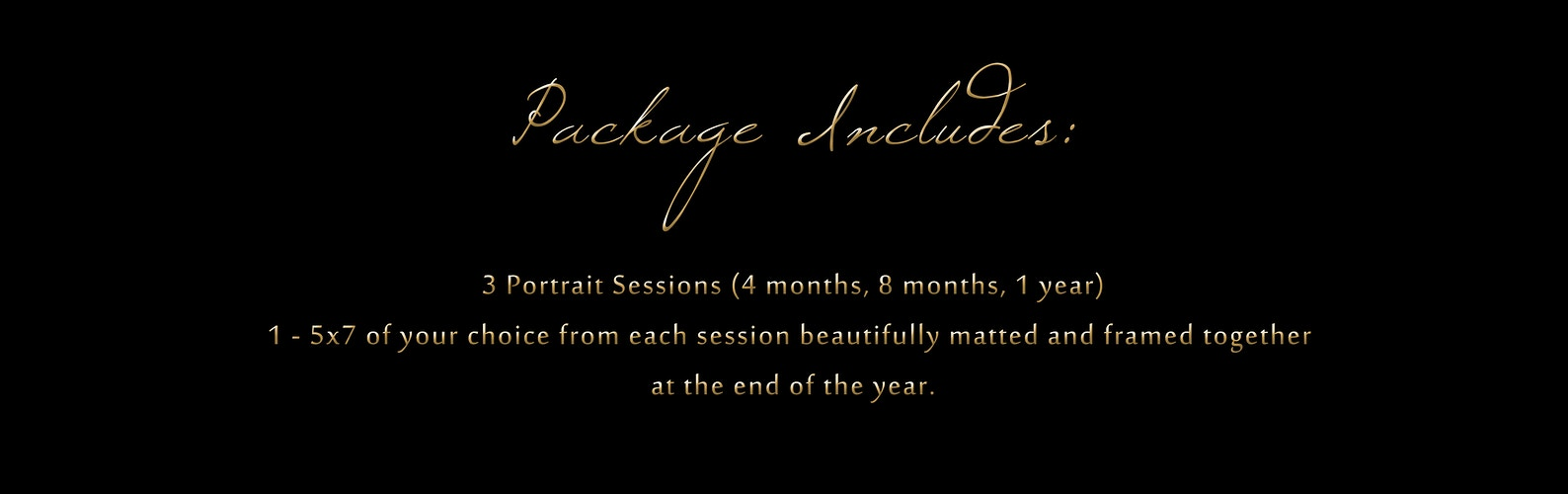 Babies First Year Package - Portrait Artistry by Linda Marie | Newborn, Children & Family Photography