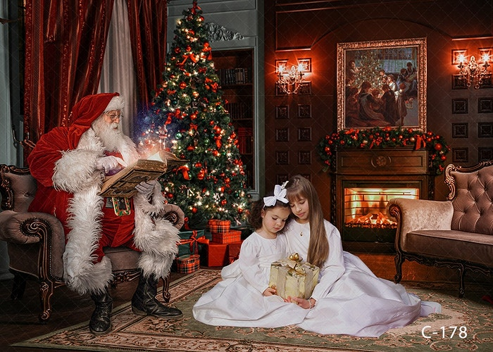 Santa Fun Digital - Portrait Artistry by Linda Marie | Newborn, Children & Family Photography