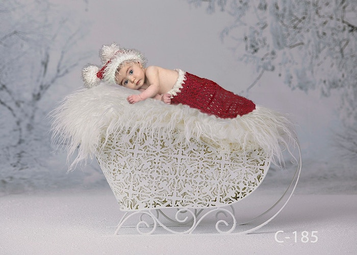 Baby Christmas Digital - Portrait Artistry by Linda Marie | Newborn, Children & Family Photography