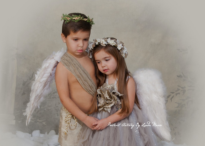 Angels - Portrait Artistry by Linda Marie | Newborn, Children & Family Photography