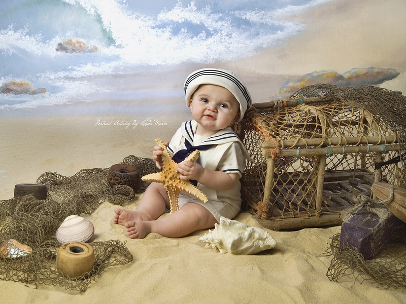 Mermaids Pirates And Sailors Oh My - Portrait Artistry by Linda Marie | Newborn, Children & Family Photography
