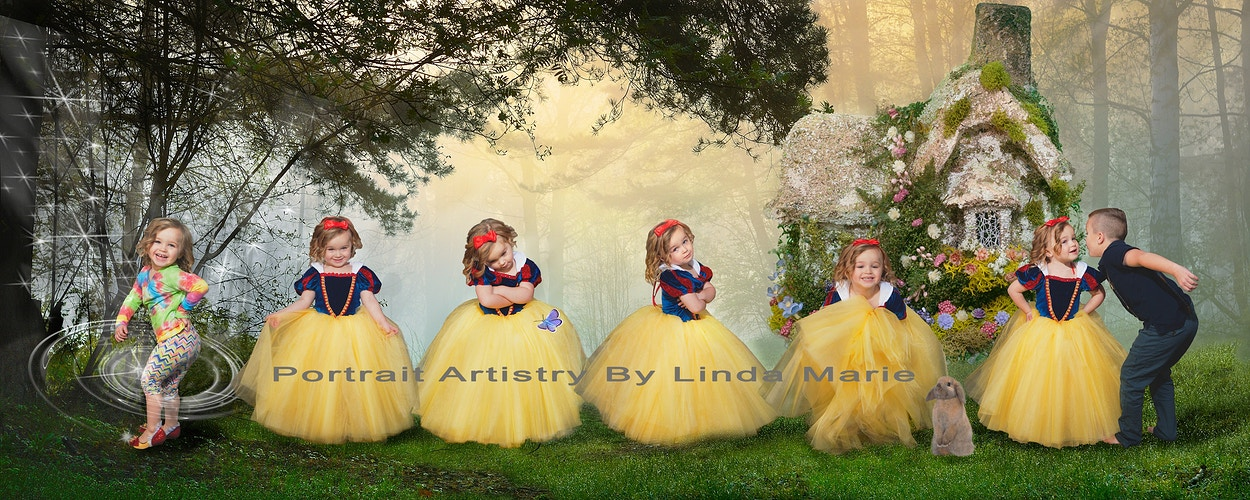 The Princess Collection - Portrait Artistry by Linda Marie | Newborn, Children & Family Photography