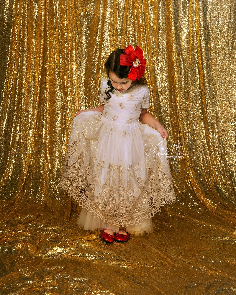 Shimmer And Shine - Portrait Artistry by Linda Marie | Newborn, Children & Family Photography