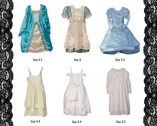 Girls Dresses Size 3 4 - Portrait Artistry by Linda Marie | Newborn, Children & Family Photography
