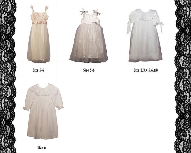 Girls Dresses Size 5 6 - Portrait Artistry by Linda Marie | Newborn, Children & Family Photography