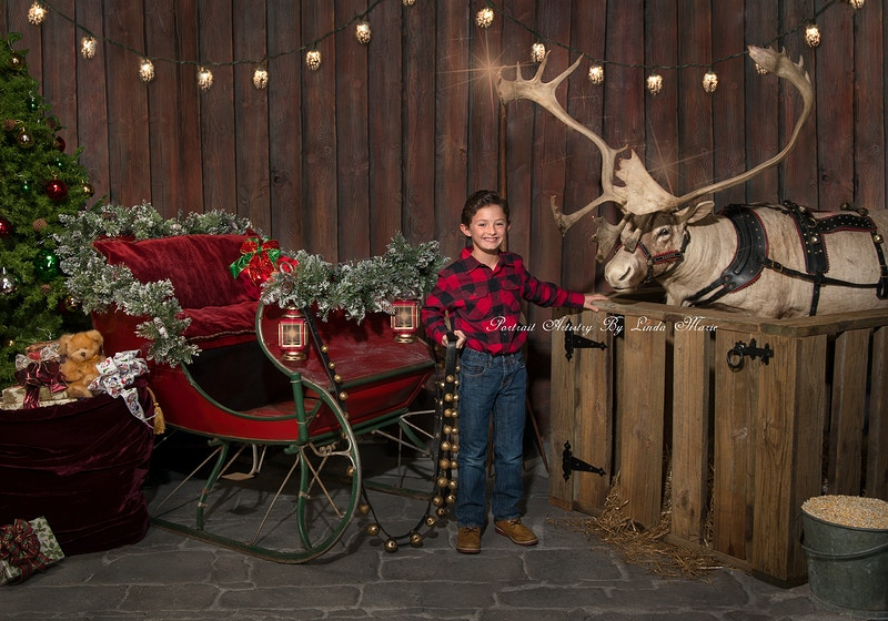 Santas Stable - Portrait Artistry by Linda Marie | Newborn, Children & Family Photography