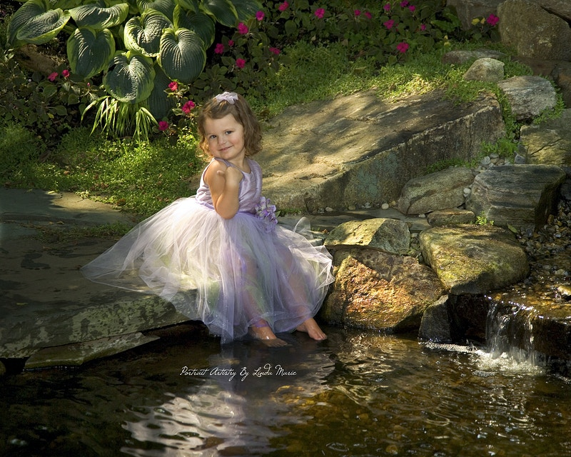 The Secret Garden - Portrait Artistry by Linda Marie | Newborn, Children & Family Photography