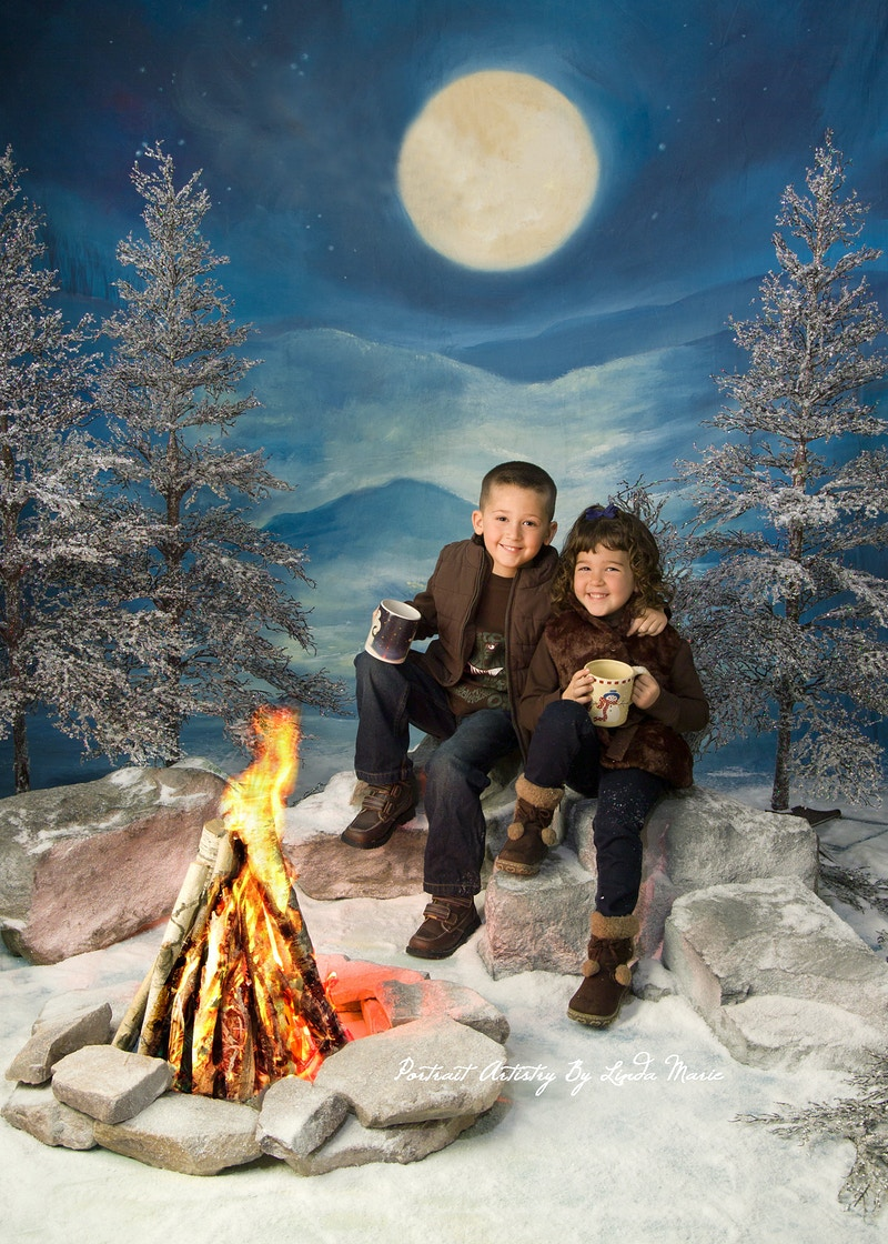 By The Light Of The Moon - Portrait Artistry by Linda Marie | Newborn, Children & Family Photography