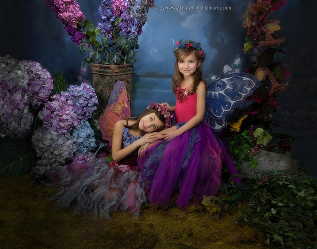The Enchanted Forest - Portrait Artistry by Linda Marie | Newborn, Children & Family Photography
