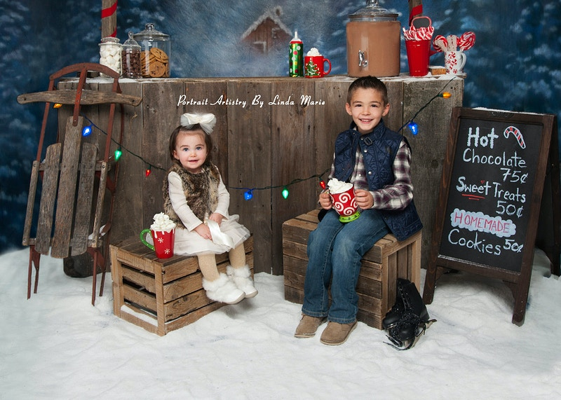 Sweet Treat Hot Chocolate Stand - Portrait Artistry by Linda Marie | Newborn, Children & Family Photography