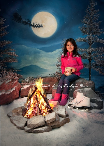 By The Light Of The Moon Gallery Digital - Portrait Artistry by Linda Marie | Newborn, Children & Family Photography