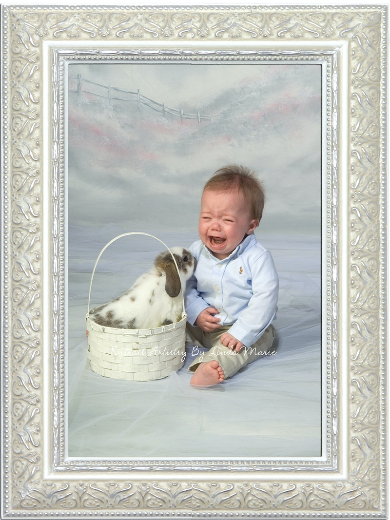 Peter Cotton Tail - Portrait Artistry by Linda Marie | Newborn, Children & Family Photography