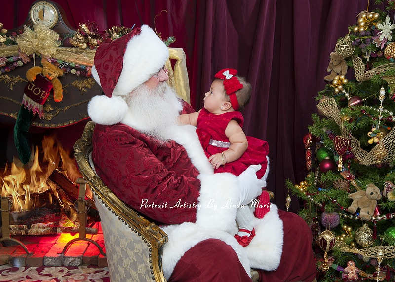 Santa - Portrait Artistry by Linda Marie | Newborn, Children & Family Photography