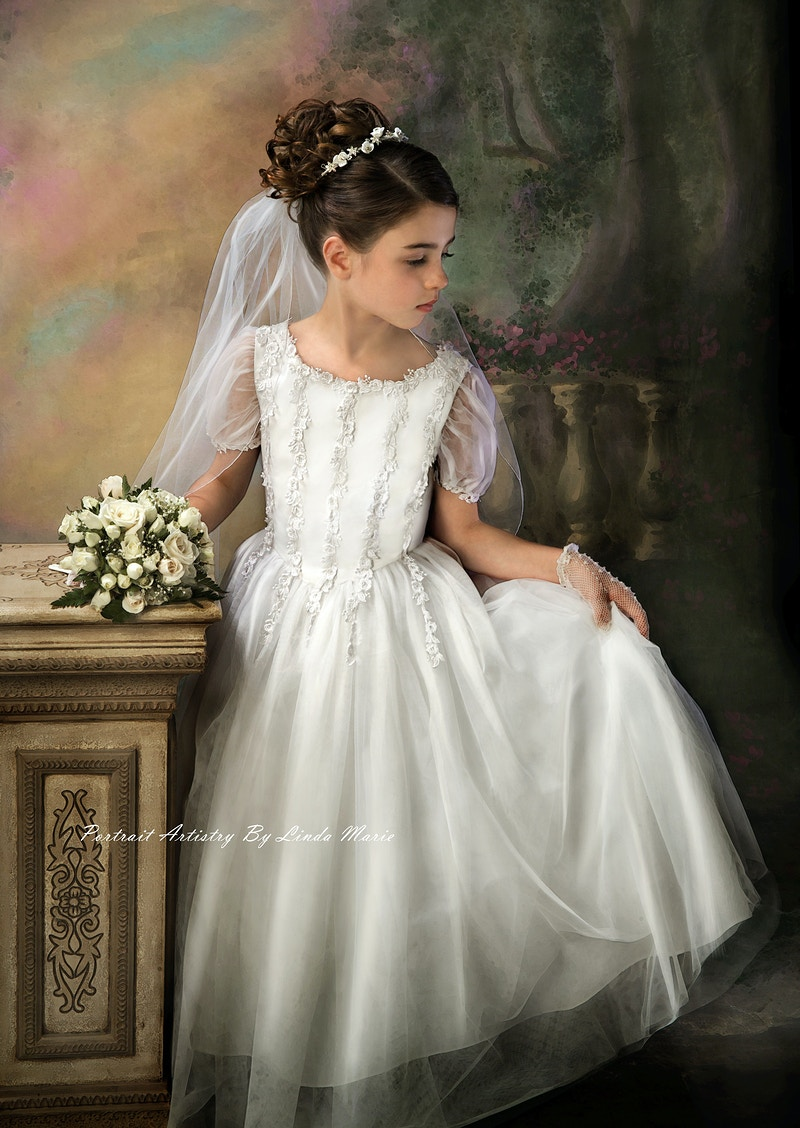 Communion - Portrait Artistry by Linda Marie | Newborn, Children & Family Photography