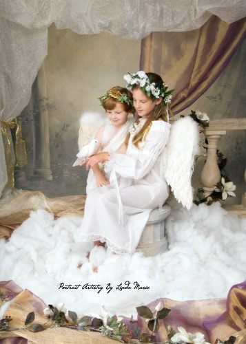 Angel Gallery - Portrait Artistry by Linda Marie | Newborn, Children & Family Photography