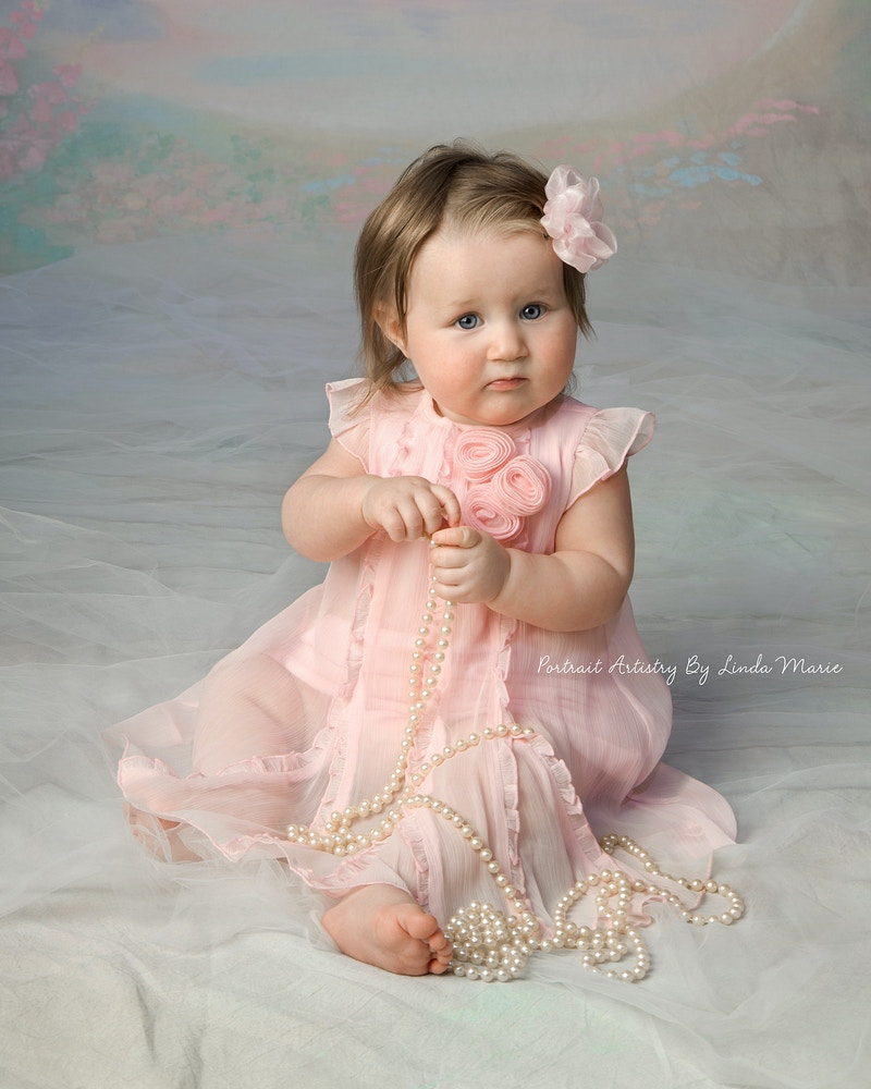 8 Months - Portrait Artistry by Linda Marie | Newborn, Children & Family Photography
