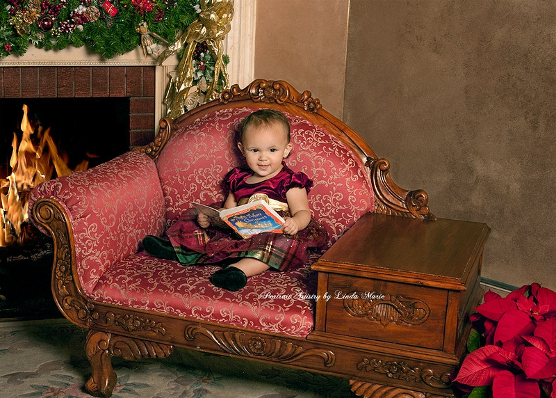 Warmth Of The Season - Portrait Artistry by Linda Marie | Newborn, Children & Family Photography