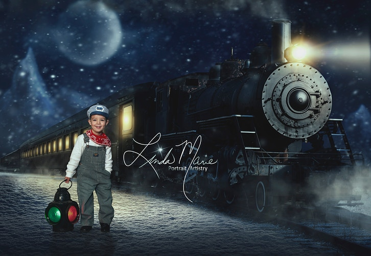 All Aboard Gallery Digital - Portrait Artistry by Linda Marie | Newborn, Children & Family Photography