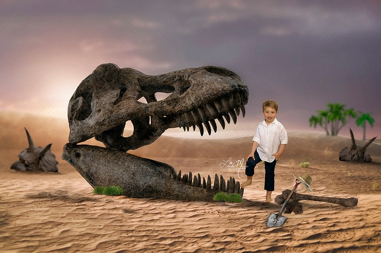 Juarassic World - Portrait Artistry by Linda Marie | Newborn, Children & Family Photography