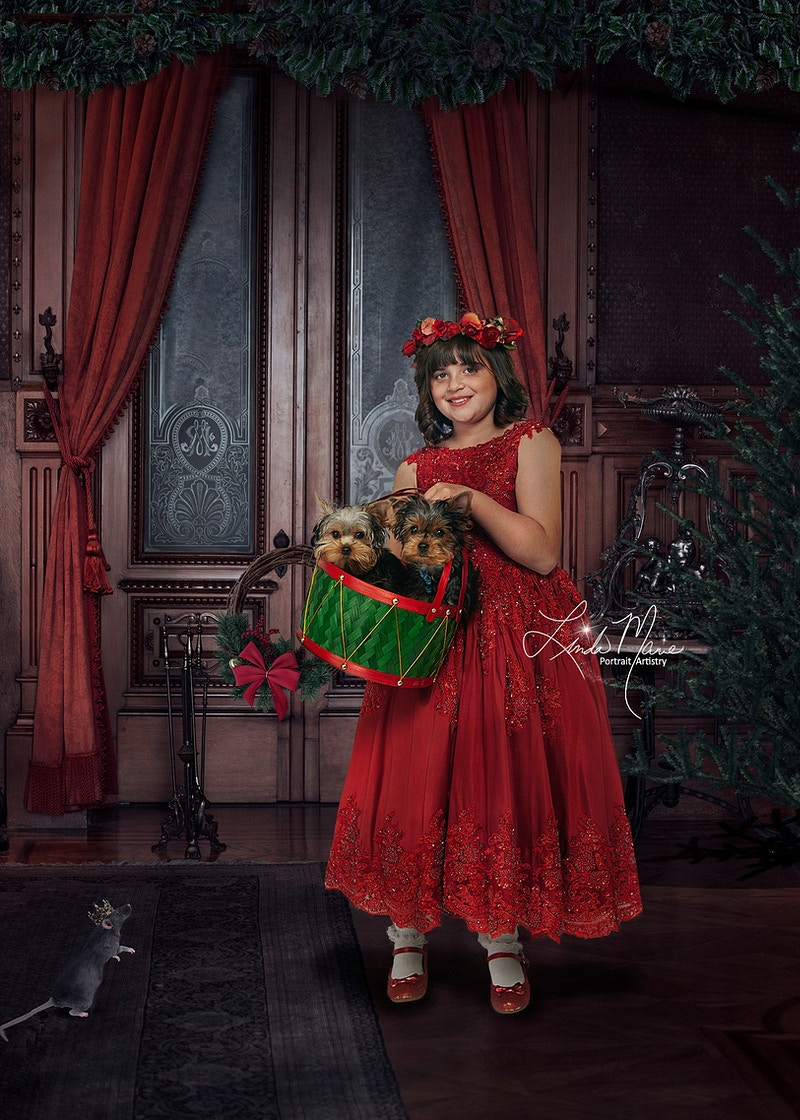 Holiday Rooms - Portrait Artistry by Linda Marie | Newborn, Children & Family Photography