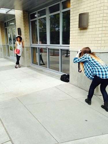 Behind The Scenes - Rachel Davis Photography