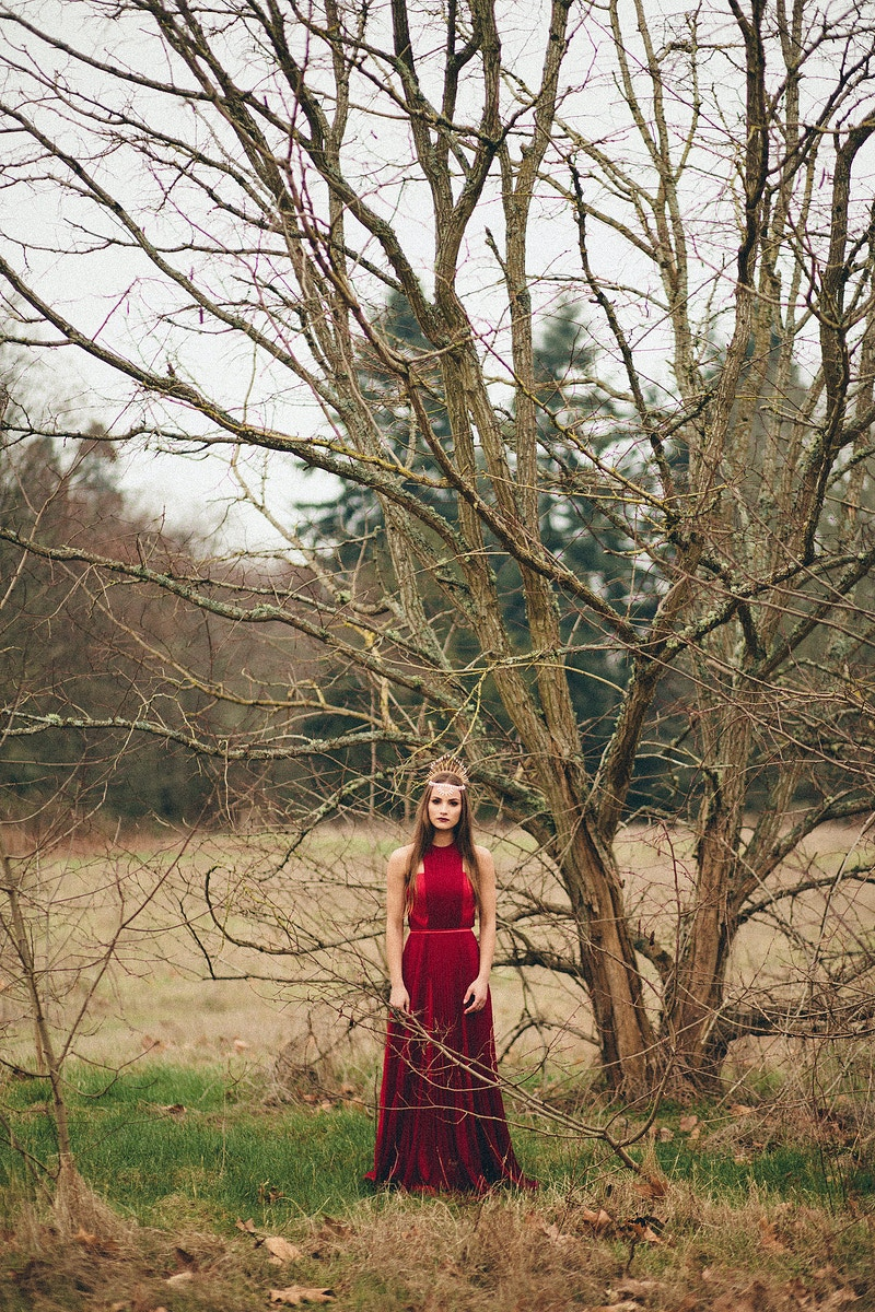 The Red Gown - Rachel Davis Photography