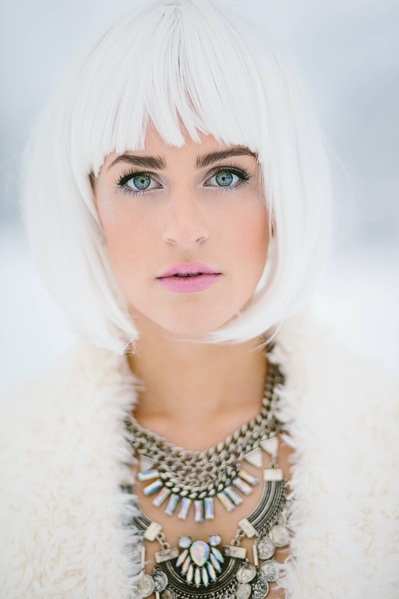 Snow Pixie - Rachel Davis Photography