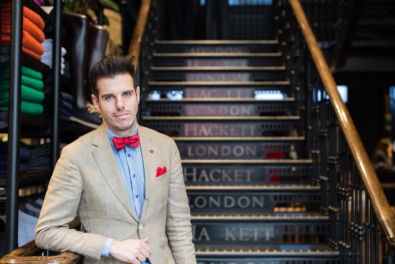 Hackett Of London Regent Street London - Rajesh Taylor | Mayfair & St James's of London Corporate and Family Photographer